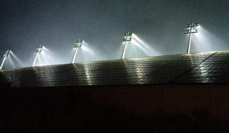 stadion Stožice Stadium oświetlenie stadionu
