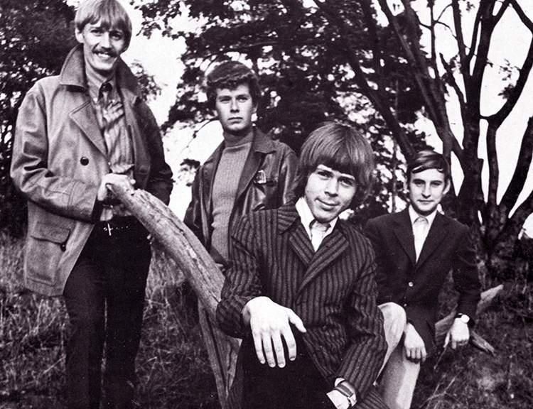 Björn Ulvaeus zespół Hootenanny Singers 1967