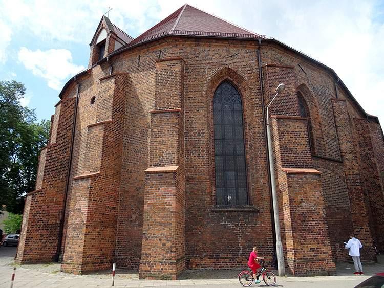 Kościan ciekawostki zabytki kościół św. Ducha