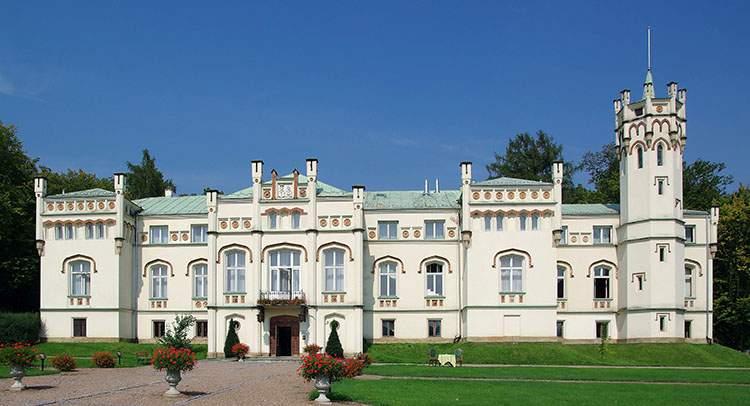 Paszkówka pałac Wielkopolska wesele event pałace