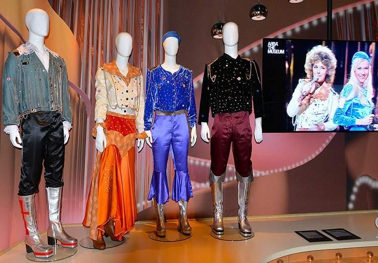 stroje ABBA ciekawostki muzeum muzyka przeboje
