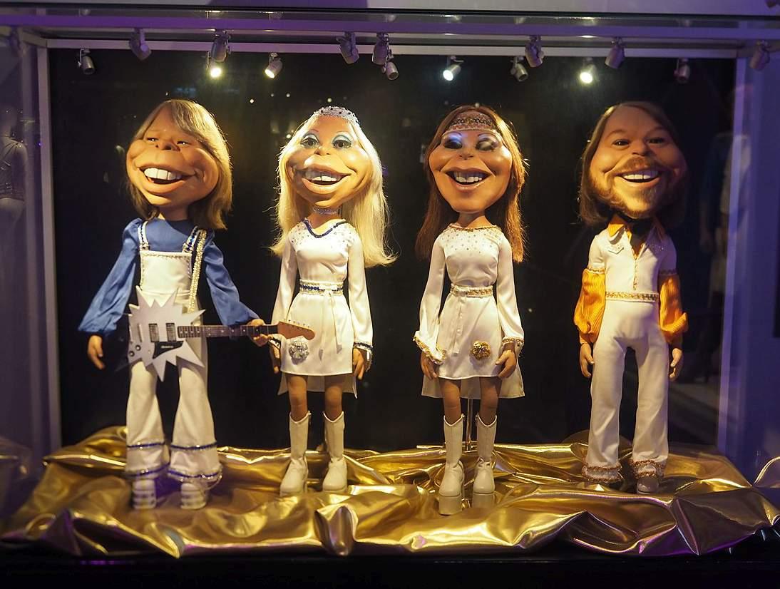 zespół ABBA ciekawostki kukły muzeum przeboje ABBY albumy Szwecja