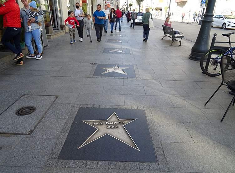 Aleja Gwiazd ulica Piotrkowska ciekawostki atrakcje