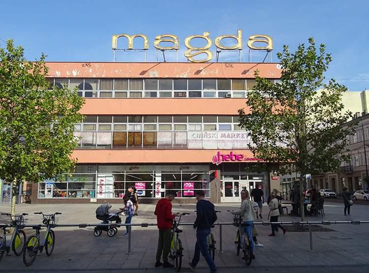 Dom Handlowy Magda ulica Piotrkowska ciekawostki Łódź