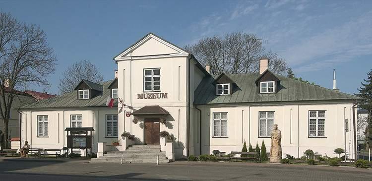 Konwikt Szaniawskich muzeum regionalne Łuków ciekawostki atrakcje historia zabytki