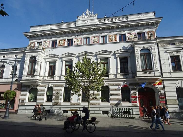 Urząd Miasta Pałac Heinzla ulica Piotrkowska Łódź