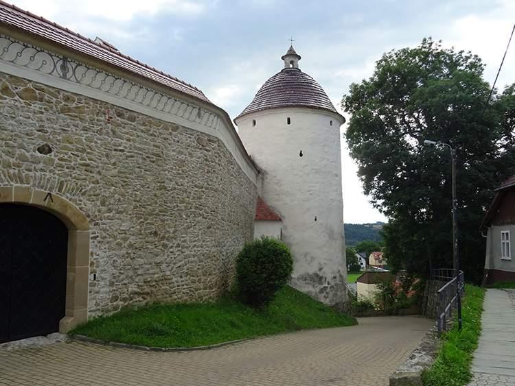 baszta klasztor Stary-Sącz atrakcje ciekawostki zabytki