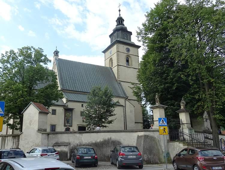 kościół św. Elżbiety Stary Sącz atrakcje ciekawostki