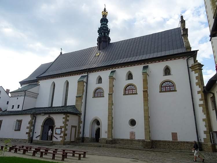 kościół św. Trójcy św. Klary Stary Sącz zabytki