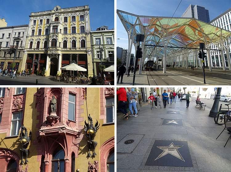 ulica Piotrkowska Łódź ciekawostki atrakcje historia