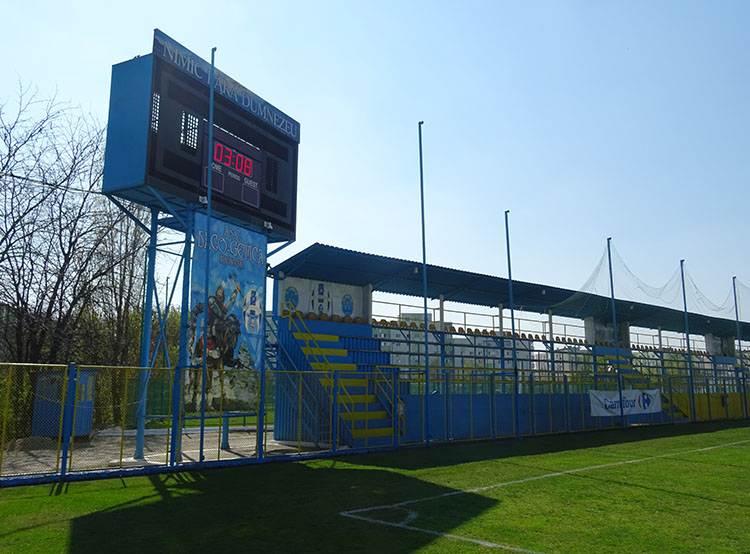 Daco-Getica Bucuresti stadion stadiony Bukareszt Juventus