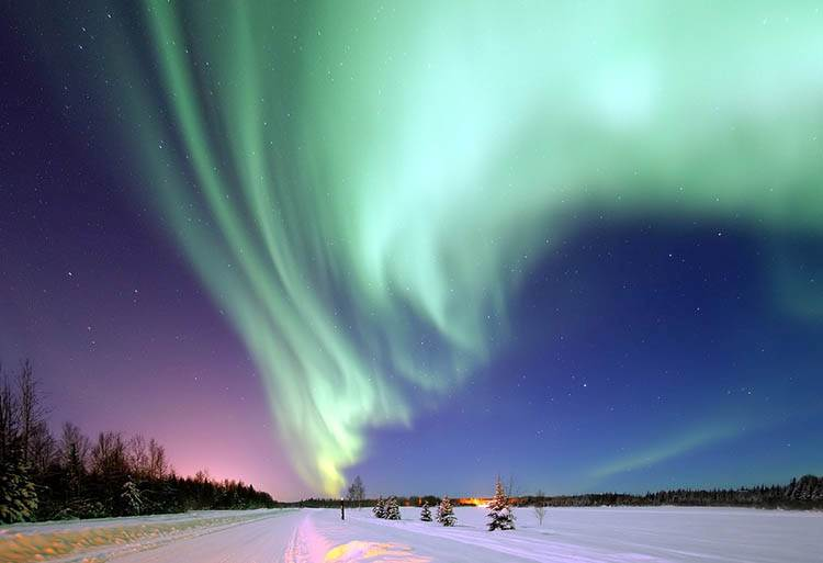 Alaska zorza polarna ciekawostki o zorzy polarnej