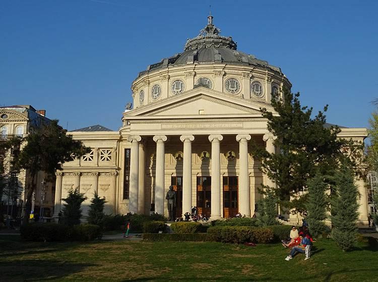 Ateneum Rumuńskie Plac Rewolucji Bukareszt atrakcje zabytki