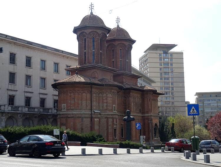Kretzulescu cerkiew Plac Rewolucji Bukareszt atrakcje zabytki