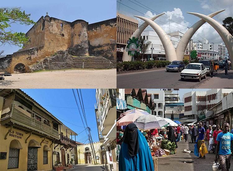 Mombasa ciekawostki atrakcje zabytki Kenia