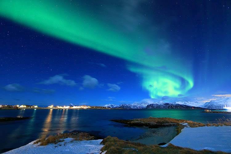 Norwegia zorza polarna ciekawostki o zorzy polarnej