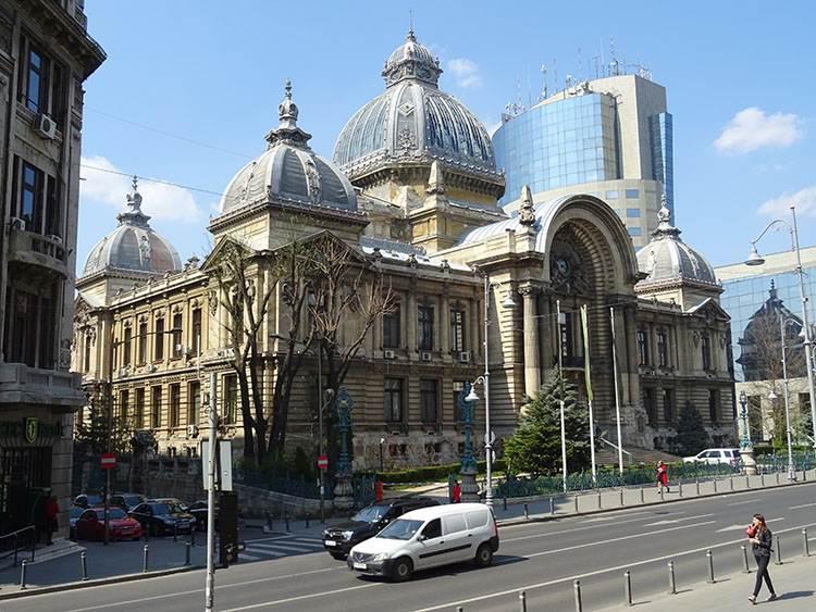 pałac CEC Bukareszt atrakcje ciekawe miejsca zabytki co warto zobaczyć Rumunia