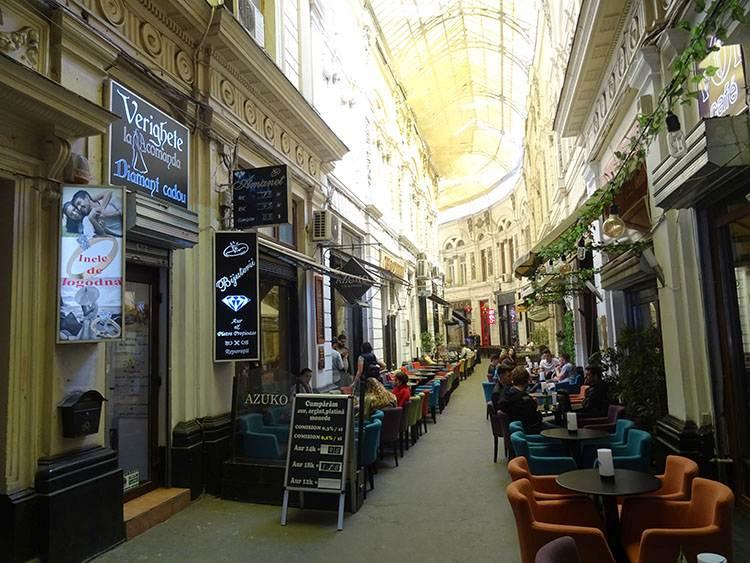 Pasajul Macca Bukareszt atrakcje ciekawe miejsca zabytki co warto zobaczyć Rumunia