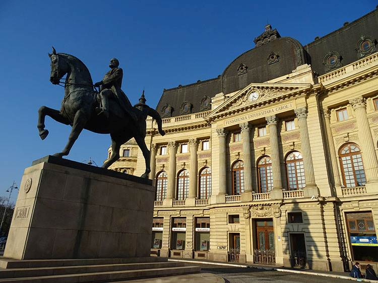 Plac Rewolucji Bukareszt atrakcje ciekawe miejsca zabytki co warto zobaczyć Rumunia