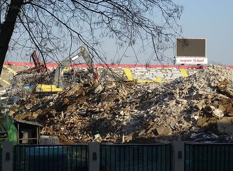 stadion Valentin Giulest Stanescu stadiony Bukareszt