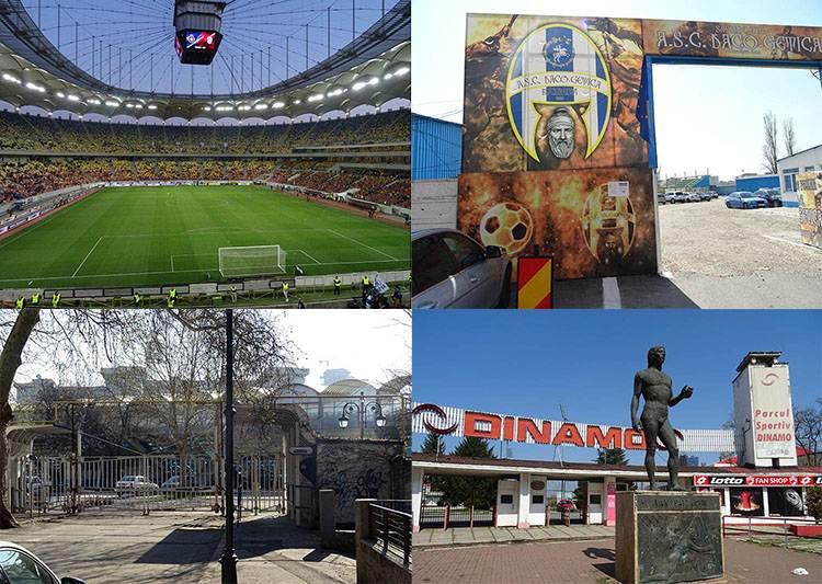 stadiony Bukareszt piłka nożna Rumunia