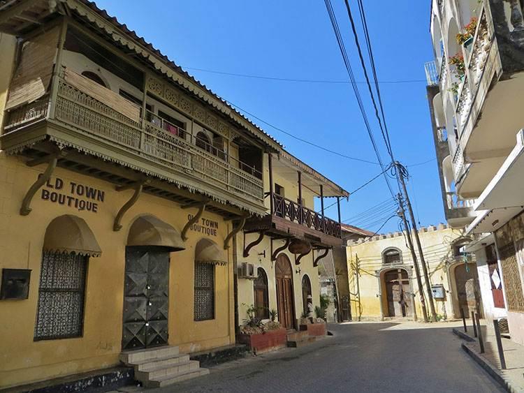 Stare Miasto Mombasa ciekawostki atrakcje zabytki Kenia