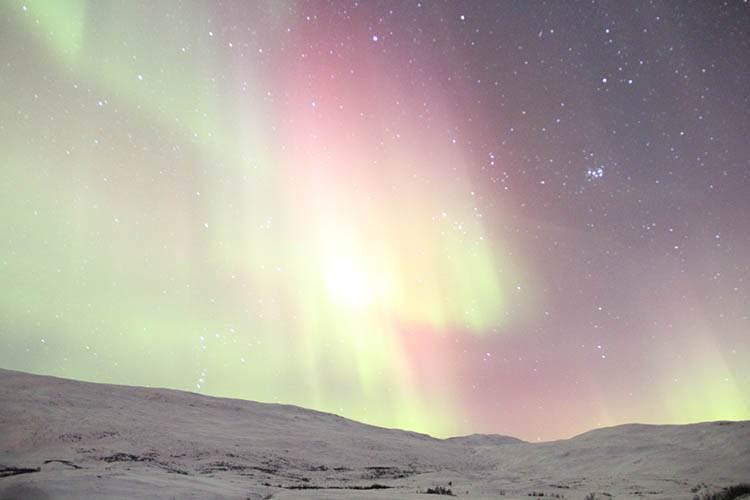 Szwecja zorza polarna ciekawostki o zorzy polarnej