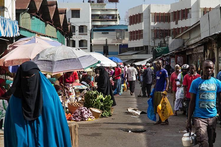 targ Mombasa ciekawostki atrakcje zabytki Kenia