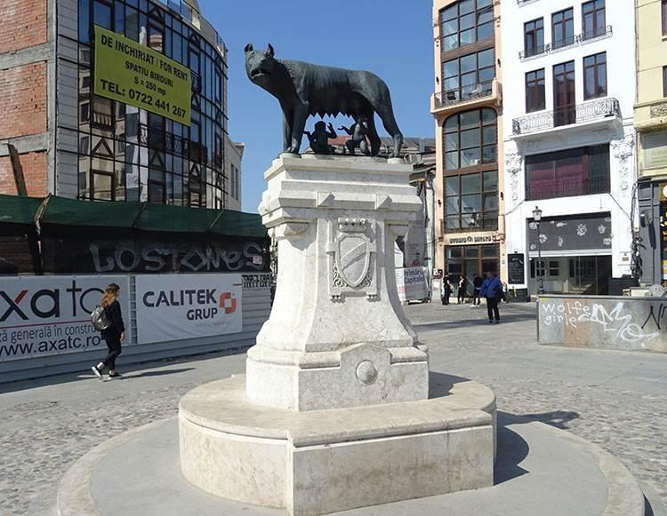 wilczyca kapitolińska Bukareszt ciekawostki Rumunia