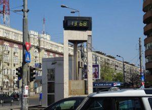 zegar czas Bukareszt ciekawostki Rumunia