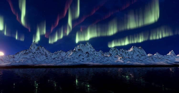 zdjęcia zorza polarna ciekawostki o zorzy polarnej