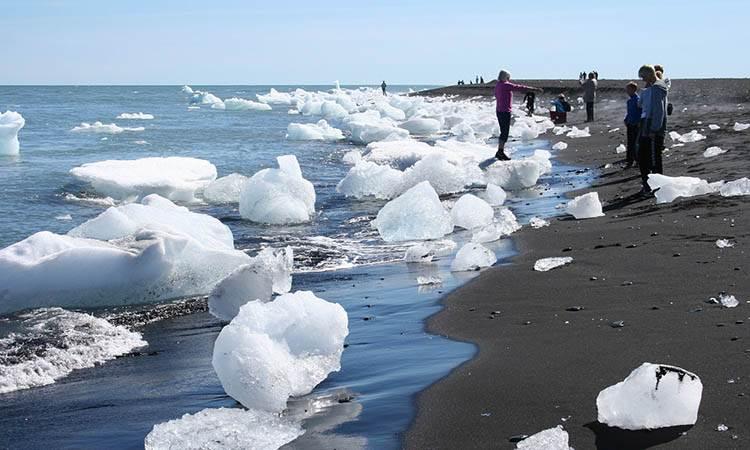 Jokulsarlon jezioro lodowiec Islandia atrakcje ciekawostki