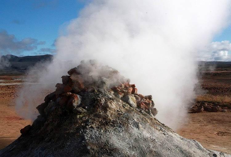 Namafjall gejzery Islandia atrakcje ciekawostki