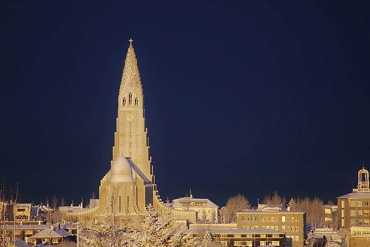 katedra Reykjavik islandia ciekawostki
