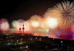 Kuwejt ciekawostki o Kuwejcie fajerwerki