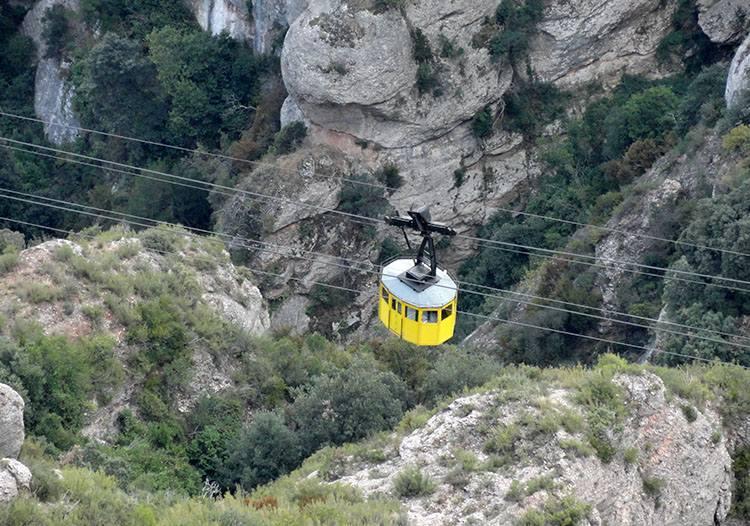 kolejka Montserrat Katalonia ciekawostki Hiszpania Barcelona
