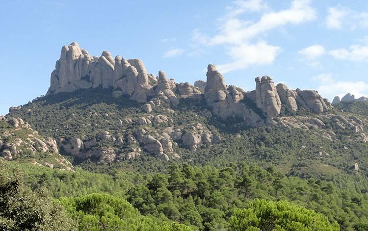 park Montserrat Katalonia ciekawostki Hiszpania Barcelona