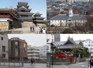 miasto Matsumoto Japonia Japan Nippon