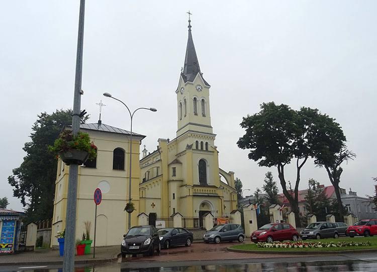 kościół Trójcy Świętej Grajewo ciekawostki atrakcje