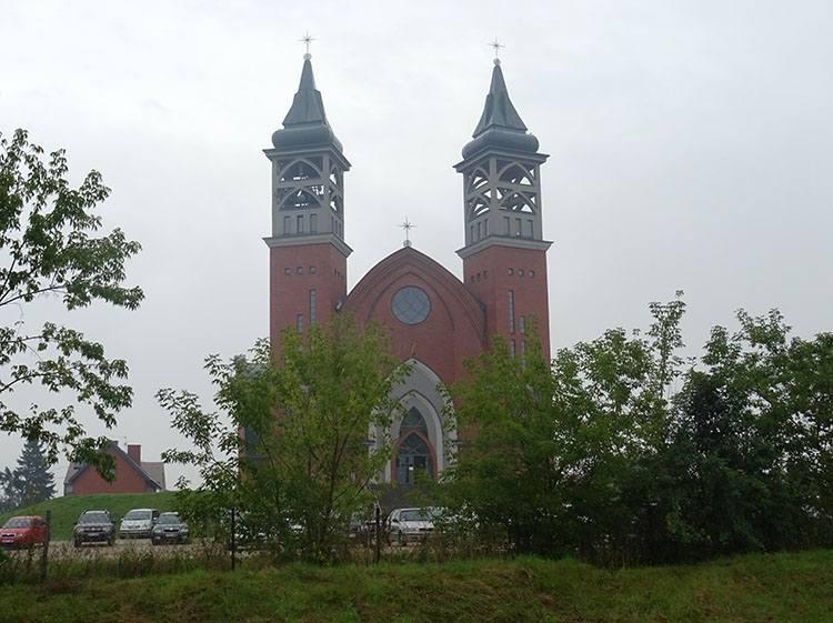 kościół św. Jana Pawła II Grajewo ciekawostki atrakcje