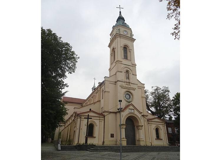 bazylika kościół Zduńska Wola ciekawostki atrakcje zabytki