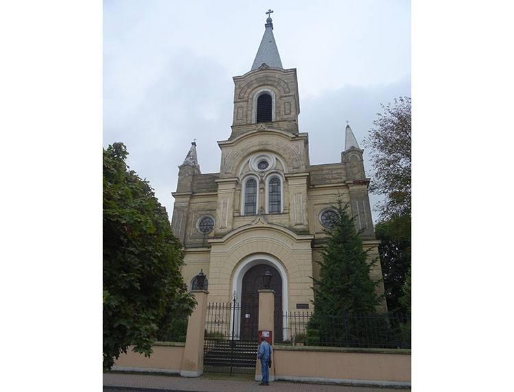 kościół ewangelicki Zduńska Wola ciekawostki atrakcje zabytki