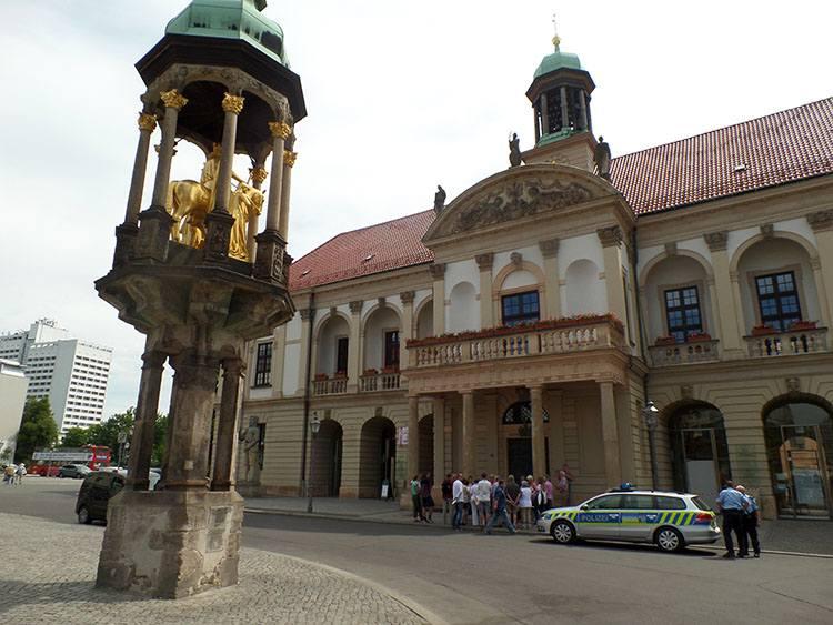 Jeździec Magdeburski  Magdeburg ciekawostki atrakcje zabytki Niemcy