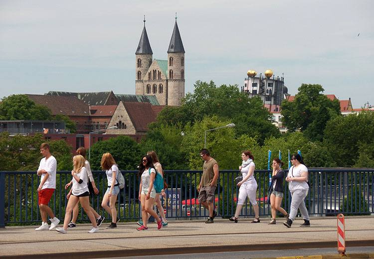 Magdeburg ciekawostki atrakcje zabytki Niemcy