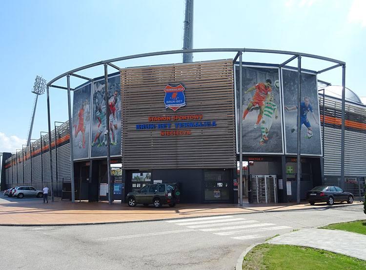 Nieciecza Termalica ciekawostki Bruk-Bet stadion klub piłka nożna