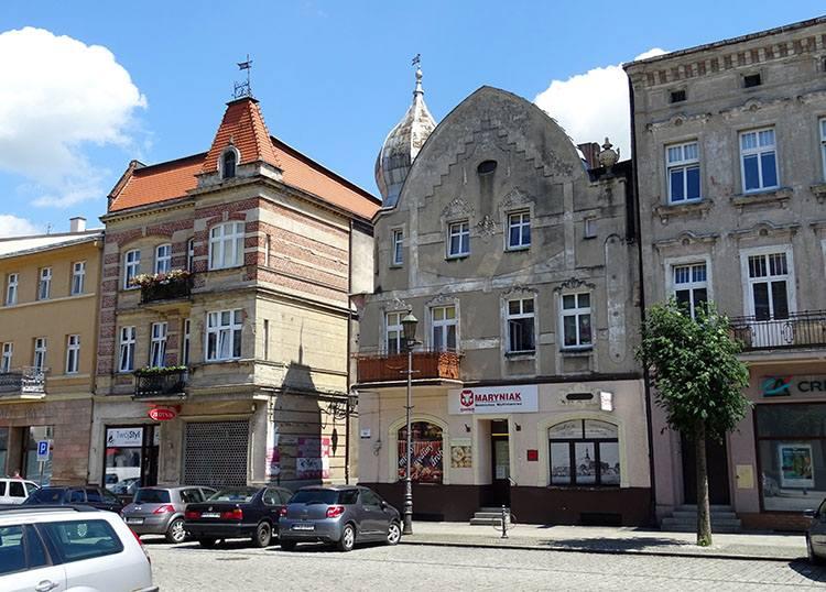 kamienice rynek Kępno ciekawostki atrakcje zabytki