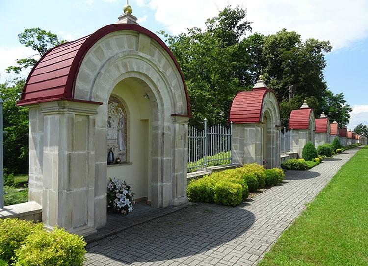 kościół Maryi Panny kaplice Szkaplerznej Dąbrowa Tarnowska ciekawostki atrakcje zabytki