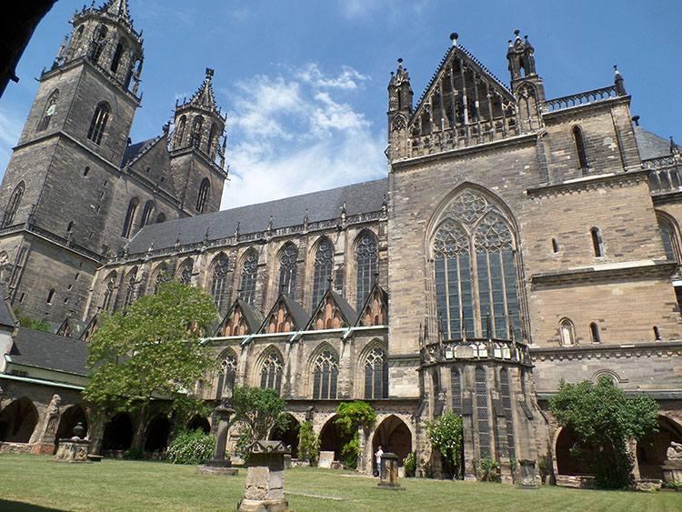 katedra Magdeburg ciekawostki atrakcje zabytki Niemcy