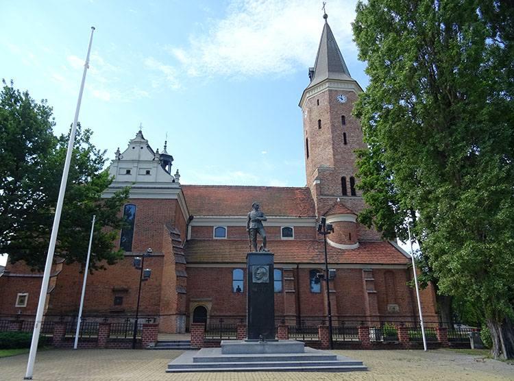 kościół Mateusza Pabianice ciekawostki atrakcje zabytki
