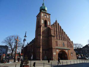 kościół Sieradz ciekawostki zabytki atrakcje